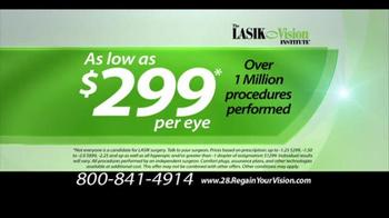 The LASIK Vision Institute TV Spot, 'Precious Moments' - Thumbnail 3