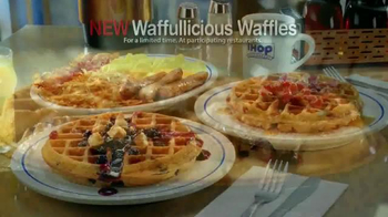 IHOP Waffullicious Waffles TV Spot, 'Combinations' - Thumbnail 9