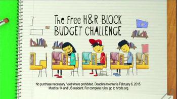 H&R Block TV Spot, 'The H&R Block Budget Challenge: Dollars & Sense' - Thumbnail 6