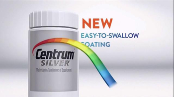 Centrum Silver Save $4 TV Spot, 'Easy-to-Swallow Coating' - Thumbnail 3