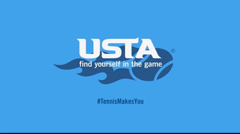 United States Tennis Association (USTA) TV Spot, 'Tennis Makes You Happier' - Thumbnail 9