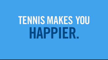 United States Tennis Association (USTA) TV Spot, 'Tennis Makes You Happier' - Thumbnail 1