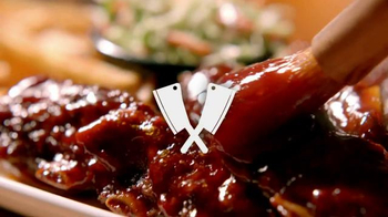 Applebee's All-You-Can-Eat Crosscut Ribs TV Spot, 'Why They're Happy' - Thumbnail 1