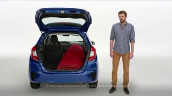 2015 Honda Fit TV Spot, 'Yogis, Carpets, Yachts and Aliens' - Thumbnail 4