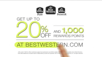 Best Western TV Spot, 'Up to 20% Off and 1000 Rewards Points' - Thumbnail 10