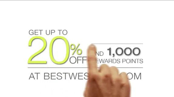 Best Western TV Spot, 'Up to 20% Off and 1000 Rewards Points' - Thumbnail 2