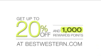 Best Western TV Spot, 'Up to 20% Off and 1000 Rewards Points' - Thumbnail 3