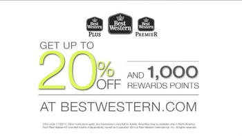 Best Western TV Spot, 'Up to 20% Off and 1000 Rewards Points' - Thumbnail 8