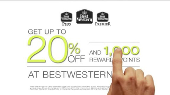 Best Western TV Spot, 'Up to 20% Off and 1000 Rewards Points' - Thumbnail 9