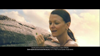E*TRADE TV Spot, 'Talent Scout: Rock Climbing' Featuring Kevin Spacey - Thumbnail 10