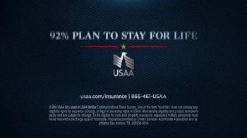 USAA Auto Insurance TV Spot, 'Thank You' - Thumbnail 9