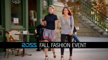 Ross Fall Fashion Event TV Spot, 'Latest Styles' - 47 commercial airings