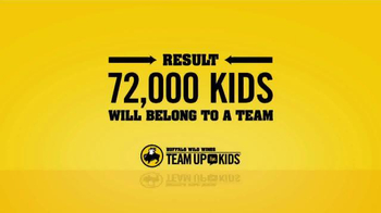 Buffalo Wild Wings TV Spot, 'Team Up for Kids' - Thumbnail 5