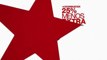Macy's La Venta De Un Día TV Spot, 'Doorbusters' [Spanish] - Thumbnail 6