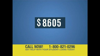 Student Loan Help Center TV Spot, 'Get Help' - Thumbnail 7