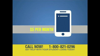 Student Loan Help Center TV Spot, 'Get Help' - Thumbnail 8