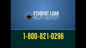 Student Loan Help Center TV Spot, 'Get Help'