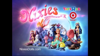 Nixies Dolls TV Spot