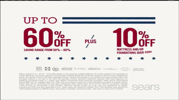 Sears Mattress Spectacular TV Spot, 'Lowest Prices of the Season' - Thumbnail 3