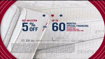Sears Mattress Spectacular TV Spot, 'Lowest Prices of the Season' - Thumbnail 6