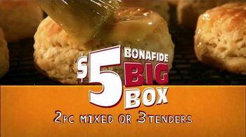 Popeyes $5 Bonafide Big Box TV Spot, 'It's Big' - 2786 commercial airings