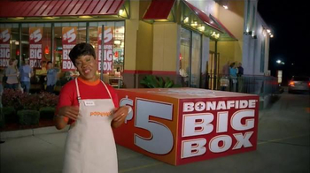 Popeyes $5 Bonafide Big Box TV Spot, 'It's Big' - Thumbnail 10