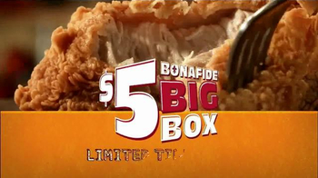 Popeyes $5 Bonafide Big Box TV Spot, 'It's Big' - Thumbnail 5
