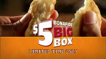 Popeyes $5 Bonafide Big Box TV Spot, 'It's Big' - Thumbnail 6