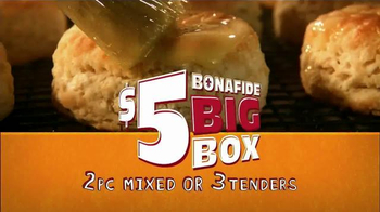 Popeyes $5 Bonafide Big Box TV Spot, 'It's Big' - Thumbnail 8
