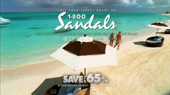 Sandals Resorts TV Spot, 'What Is a Vacation?' - Thumbnail 10