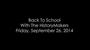 The HistoryMakers TV Spot, 'Fifth Annual Back To School' - Thumbnail 3