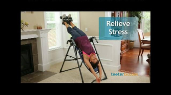 Teeter Hang Ups TV Spot, 'Natural Relief in Minutes a Day'