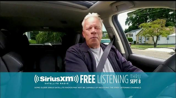 Sirius/XM Satellite Radio Free Listening Event TV Spot - Thumbnail 3