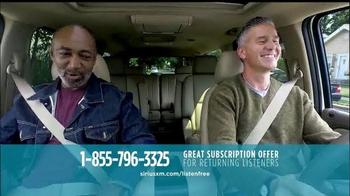 Sirius/XM Satellite Radio Free Listening Event TV Spot - Thumbnail 7