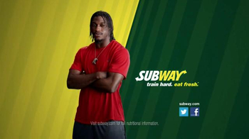Subway TV Spot, 'No Challenge' Featuring Robert Griffin III, Justin Tuck - Thumbnail 10