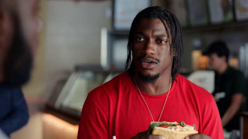Subway TV Spot, 'No Challenge' Featuring Robert Griffin III, Justin Tuck - Thumbnail 2