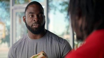 Subway TV Spot, 'No Challenge' Featuring Robert Griffin III, Justin Tuck - Thumbnail 3