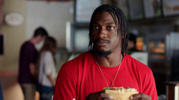 Subway TV Spot, 'No Challenge' Featuring Robert Griffin III, Justin Tuck - Thumbnail 4