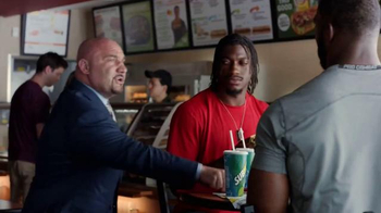 Subway TV Spot, 'No Challenge' Featuring Robert Griffin III, Justin Tuck - Thumbnail 7