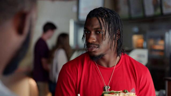 Subway TV Spot, 'No Challenge' Featuring Robert Griffin III, Justin Tuck - Thumbnail 8