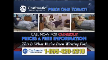Craftmatic Labor Day Super Closeout Event TV Spot - Thumbnail 2