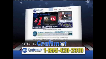 Craftmatic Labor Day Super Closeout Event TV Spot - Thumbnail 8