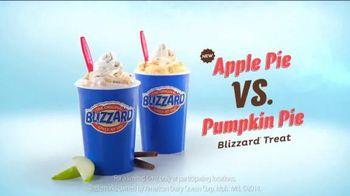 Dairy Queen Blizzard TV Spot, 'Pumpkin Pie vs. Apple Pie' - Thumbnail 10