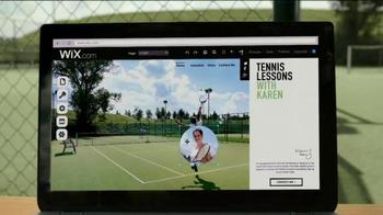 Wix.com TV Spot, 'Tennis Lessons with Karen' - Thumbnail 2