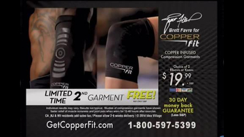Copper Fit TV Spot, 'Old Arm' Featuring Brett Favre - Thumbnail 5