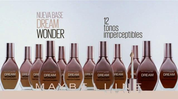 Maybelline New York Dream Wonder Foundation TV Spot [Spanish] - Thumbnail 10