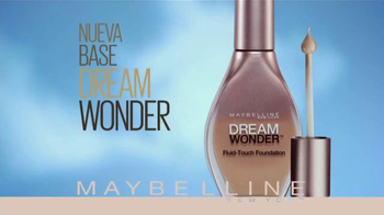 Maybelline New York Dream Wonder Foundation TV Spot [Spanish] - Thumbnail 3