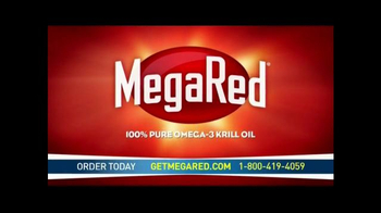 Mega Red Ultra Strength Omega-3 Krill Oil Supplement TV Spot - Thumbnail 2