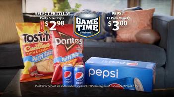 Walmart TV Spot, 'Game Time' - Thumbnail 7