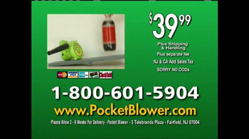 Pocket Blower TV Spot, 'Compact Power Cleaning' - Thumbnail 10